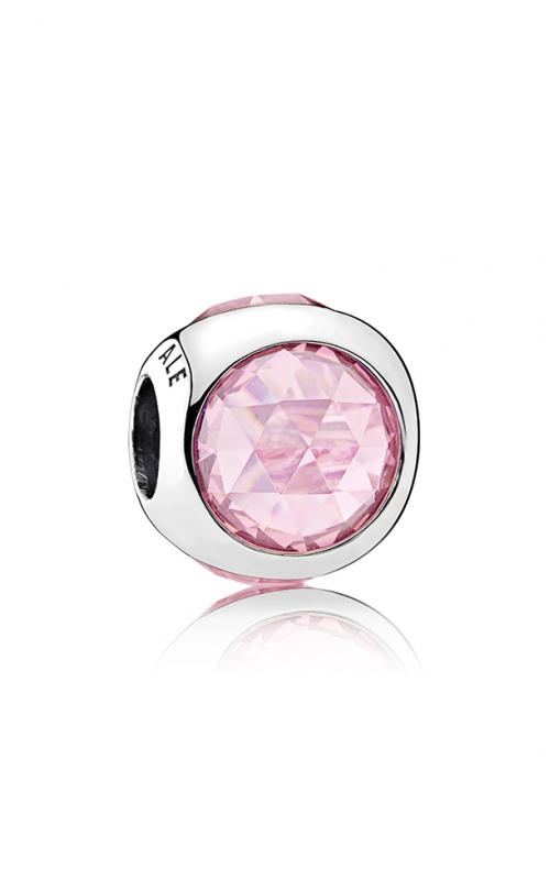PANDORA Radiant Droplet Charm Pink CZ 792095PCZ product image