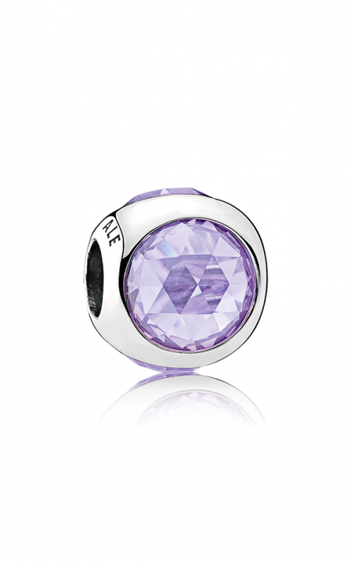 PANDORA Radiant Radiant Droplet Charm Lavender CZ 792095LCZ product image