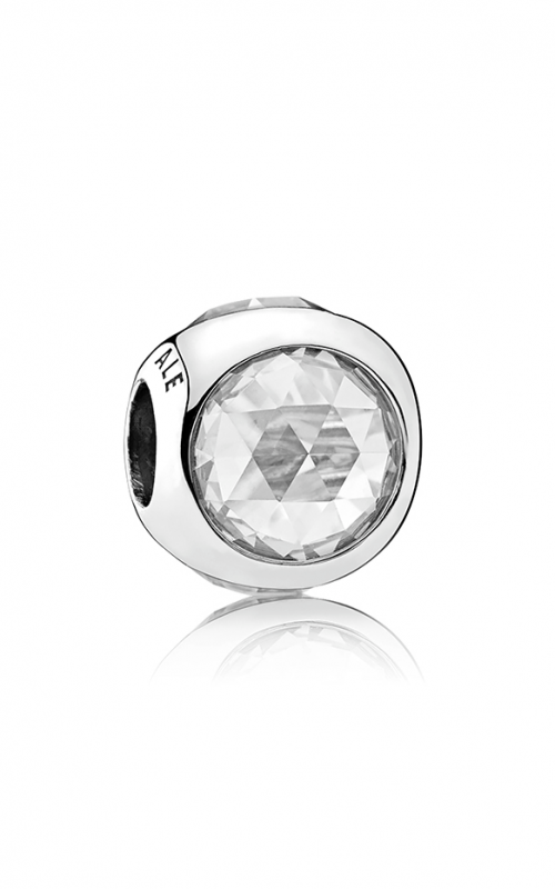 PANDORA Radiant Droplet Charm Clear CZ 792095CZ product image