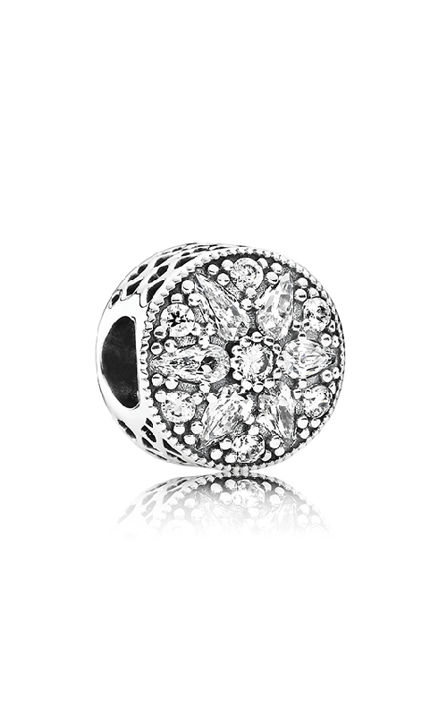 PANDORA Radiant Bloom Charm Clear CZ 791762CZ product image