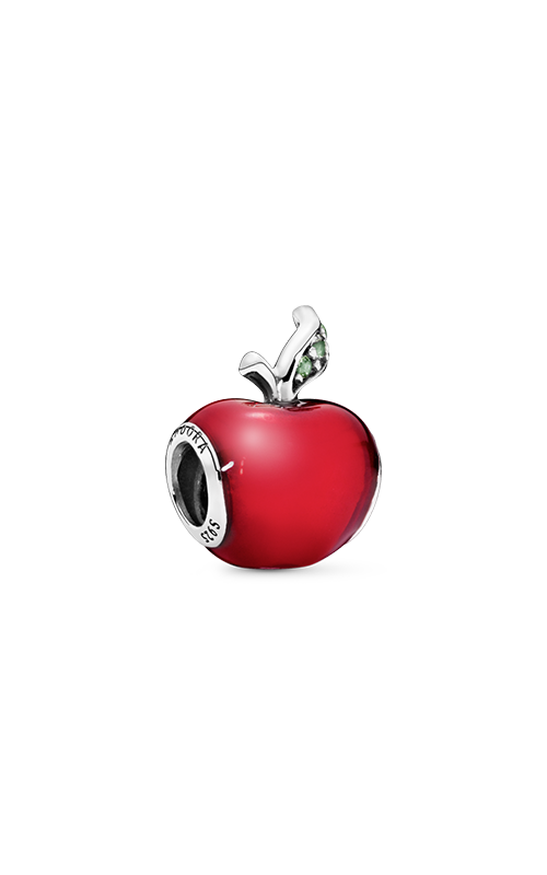 Pandora Disney Snow White Apple Charm Red Enamel & Light Green CZ 791572EN73 product image