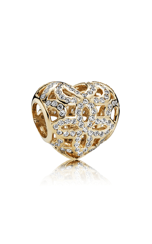 PANDORA Love & Appreciation Clear CZ Charm 750837CZ product image