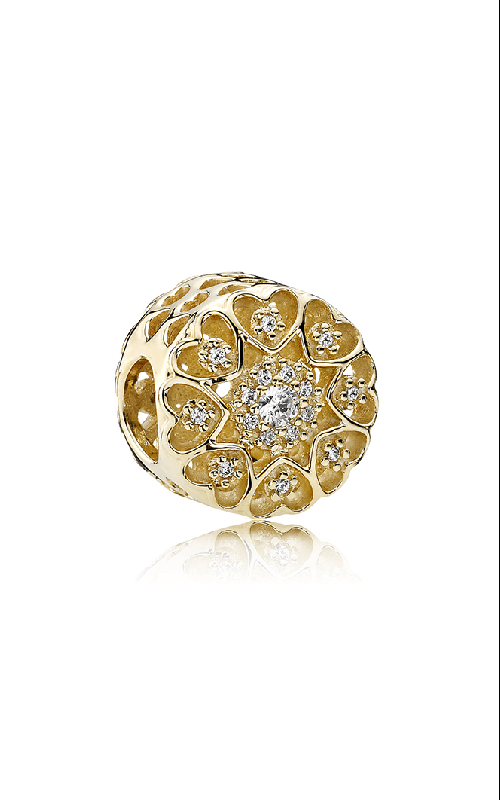 PANDORA Floral Brilliance Clear CZ Charm 750841CZ product image