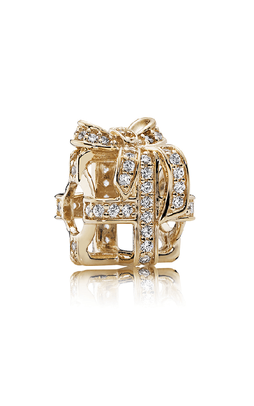 PANDORA All Wrapped Up Clear CZ Charm 750839CZ product image