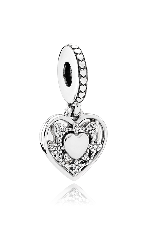 PANDORA My Wife Always Dangle Charm Clear CZ 792099CZ product image