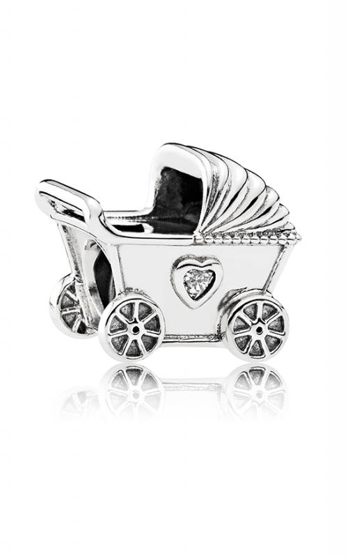 Pandora Baby's Pram Charm Clear CZ 792102CZ product image