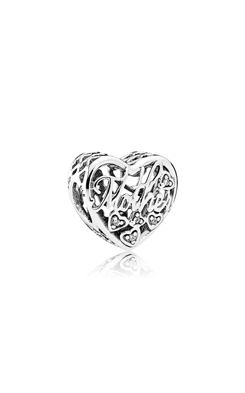 PANDORA Mother & Son Bond Charm Clear CZ 792109CZ product image