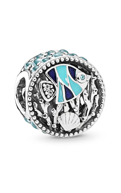 PANDORA Ocean Life Charm Mixed Enamel & Multi-Colored CZ 792075ENMX product image