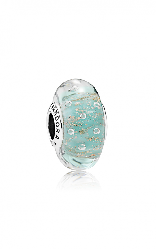 PANDORA Mint Glitter, Murano Glass 791669 product image