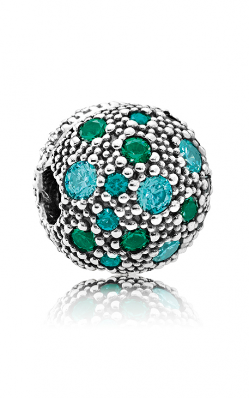 PANDORA Cosmic Stars Multi-Colored Charm Crystals & Teal CZ 791286MCZMX product image