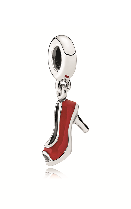 PANDORA Red Stiletto Dangle Charm Red Enamel 792154EN09 product image