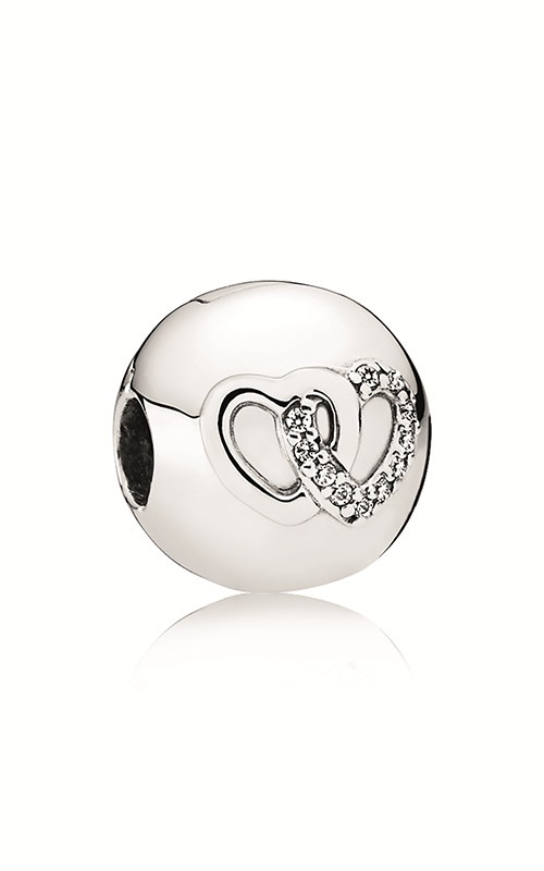 PANDORA Heart Bond Charm Clear CZ 792150CZ product image