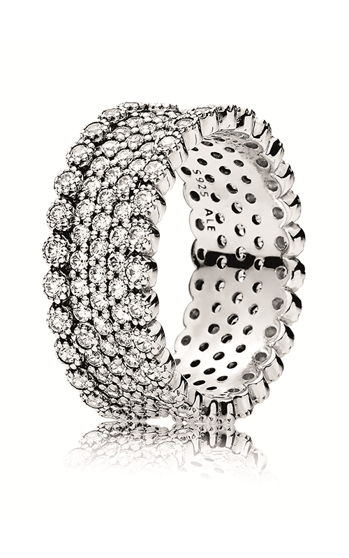 Pandora Lavish Sparkle Ring Clear CZ 196313CZ-52 (Retired) product image