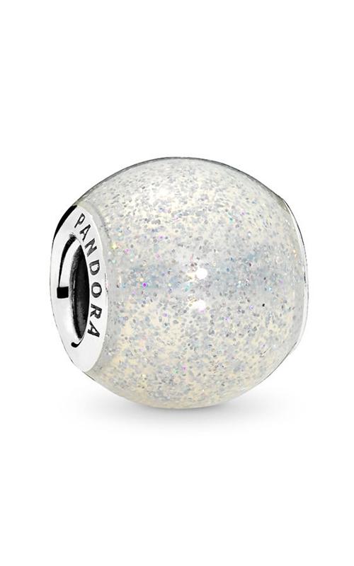 Pandora Glitter Ball Charm Silvery Glitter Enamel 796327EN144 product image