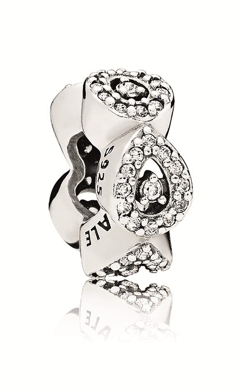 PANDORA Cascading Glamour Spacer Clear CZ 796270CZ product image