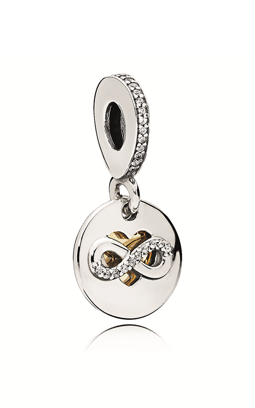 PANDORA Heart of Infinity Dangle Charm Clear CZ 796200CZ product image
