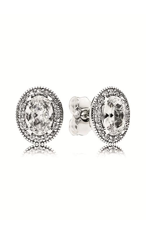 Pandora Vintage Elegance Stud Earrings Clear CZ 296247CZ product image