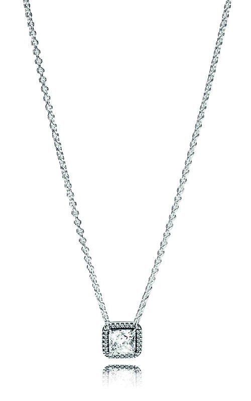 Pandora Timeless Elegance Necklace Clear CZ 396241CZ-45 product image