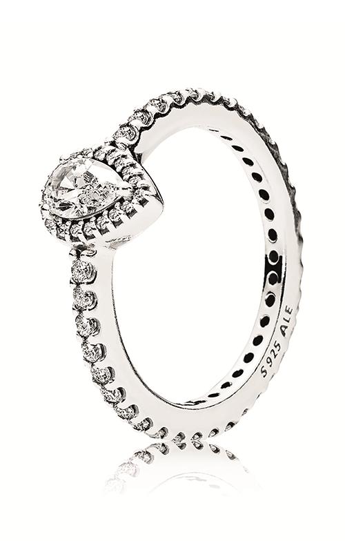 Pandora Radiant Teardrop Ring Clear CZ 196254CZ-52 product image