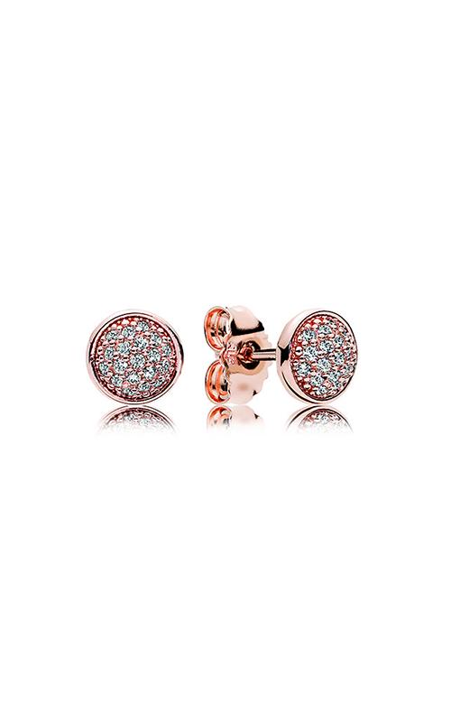 ba25569b4 PANDORA Rose™ & Clear CZ, Dazzling Droplets Stud Earrings 280726CZ product  image