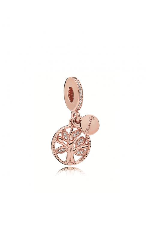 Pandora Rose™ & Clear CZ,  Family Heritage Dangle Charm 781728CZ product image