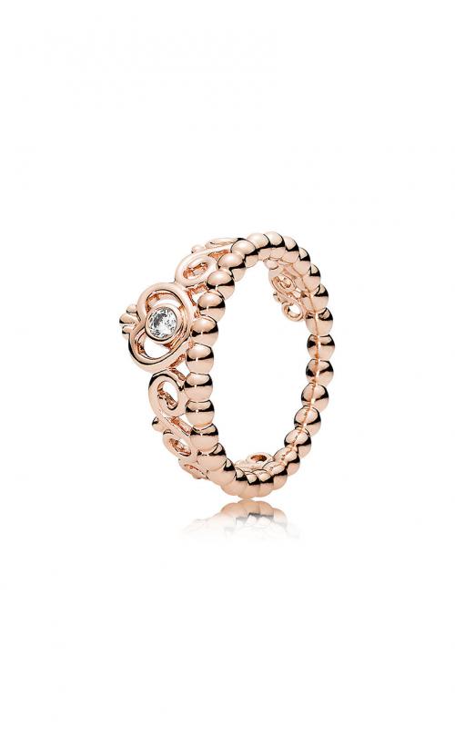 d6d999e50 PANDORA Rose™ & Clear CZ, My Princess Tiara Ring 180880CZ-48 product image
