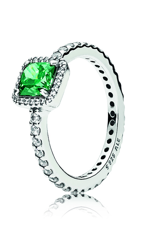 PANDORA Timeless Elegance, Green & Clear CZ 190947GCZ-56 product image