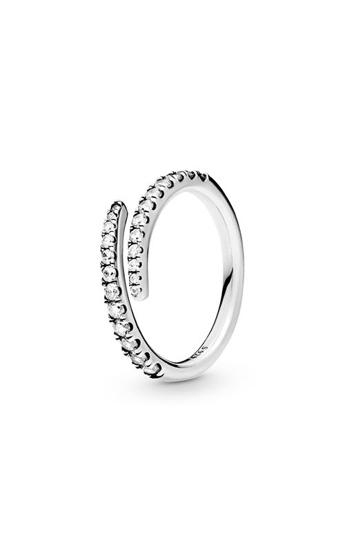 PANDORA Shooting Star Ring, Clear CZ 196353CZ-58 product image