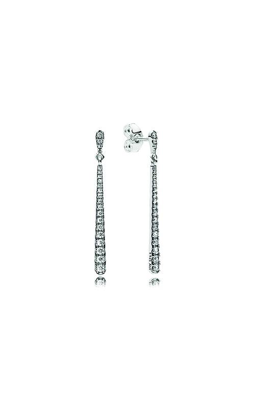 PANDORA Shooting Stars Dangle Earrings, Clear CZ 296351CZ product image