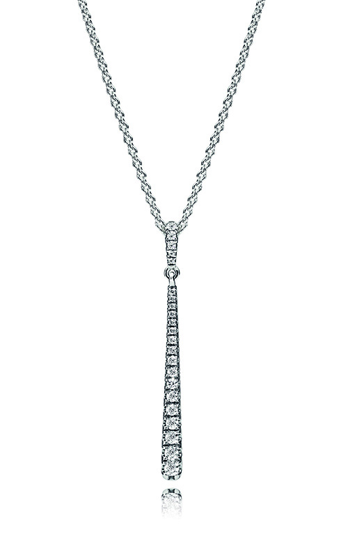 14eff53a7 PANDORA Shooting Star Necklace, Clear CZ 396354CZ-60 product image