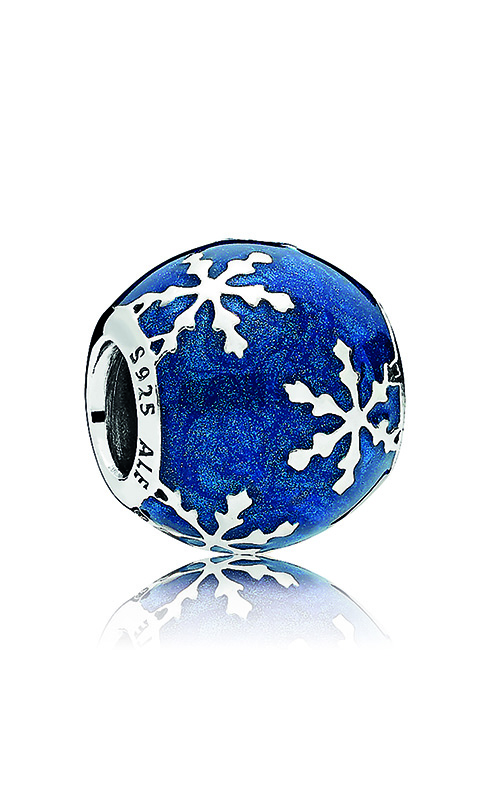 Pandora Wintry Delight Charm, Midnight Blue Enamel 796357EN63 product image