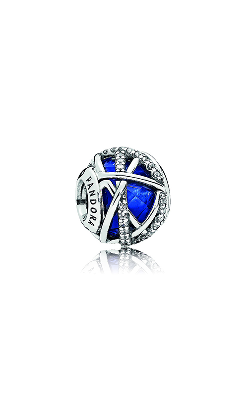 Pandora Galaxy Charm, Royal Blue Crystal & Clear CZ 796361NCB product image