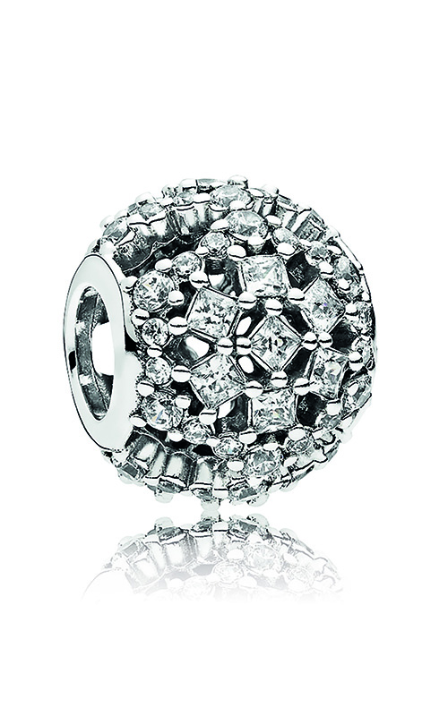 Pandora Snow Flurry Charm, Clear CZ 796378CZ product image