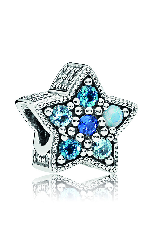 PANDORA Bright Star Charm, Multi-Colored Crystals 796379NSBMX product image