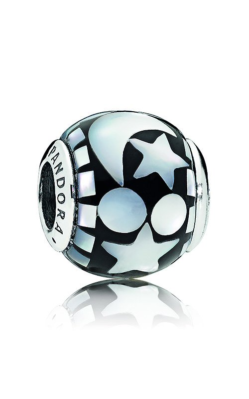 PANDORA Celestial Mosaic Charm, Black Acrylic & Mother-of-Pearl 796400MMB product image
