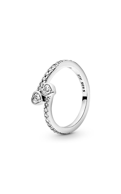 PANDORA Forever Hearts Clear CZ Ring 191023CZ-56 product image