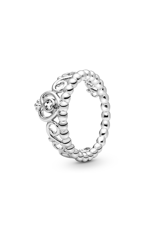 Pandora My Princess Stackable Ring Clear CZ 190880CZ-48 product image