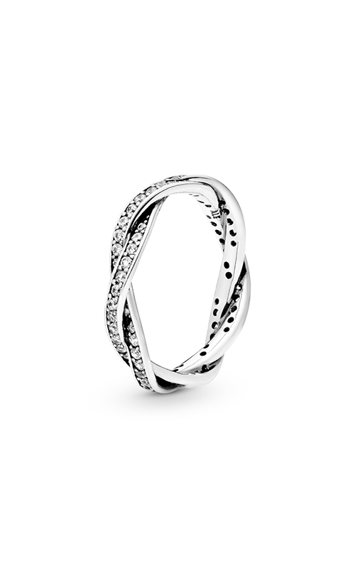 Pandora Twist Of Fate Stackable Ring Clear CZ 190892CZ-48 product image