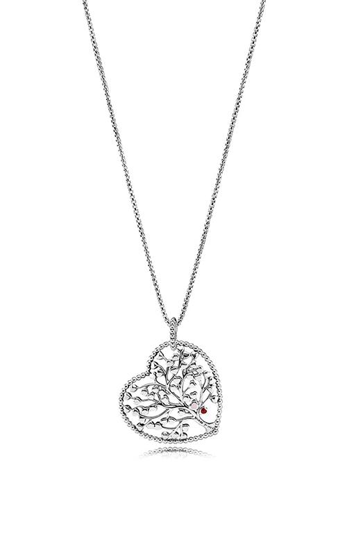 Pandora Tree of Love Necklace Mixed Enamel 396582ENMX-75 product image