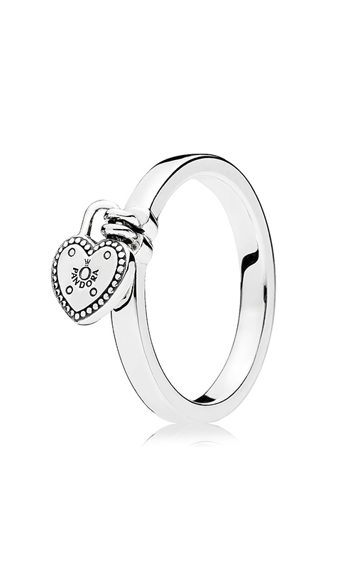 Pandora Love Lock Ring 196571-50 (Retired) product image