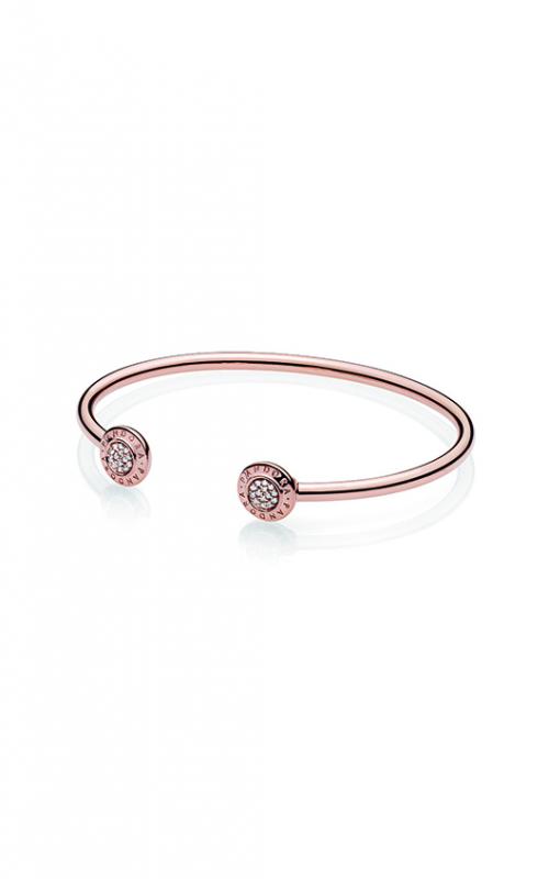 Pandora Rose™ Pandora Signature Open Bangle Bracelet 580528CZ-1 product image