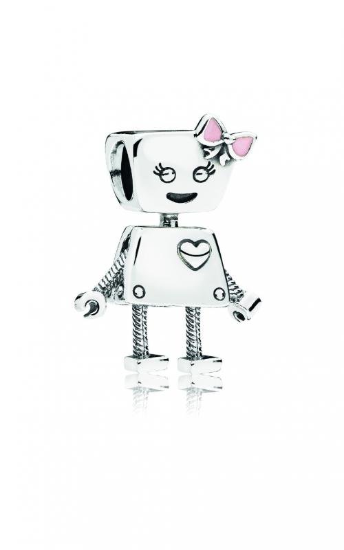PANDORA Bella Bot Charm, Pink Enamel Charm 797141EN160 product image