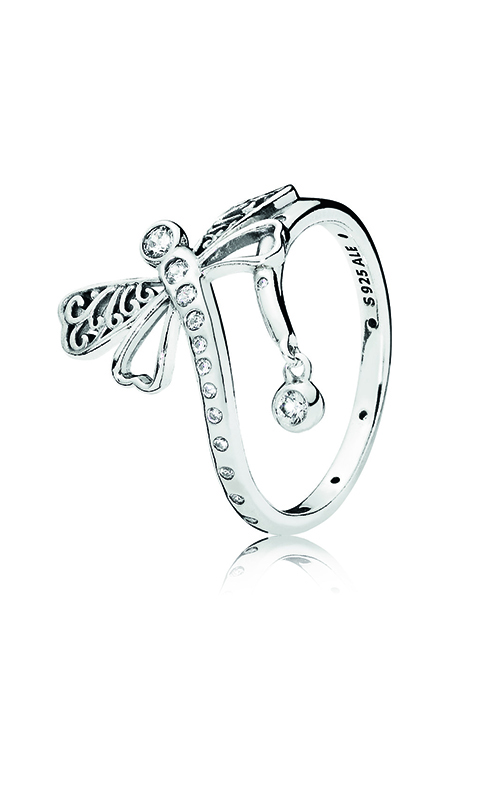 PANDORA Dreamy Dragonfly Ring, Clear CZ 197093CZ-58 product image
