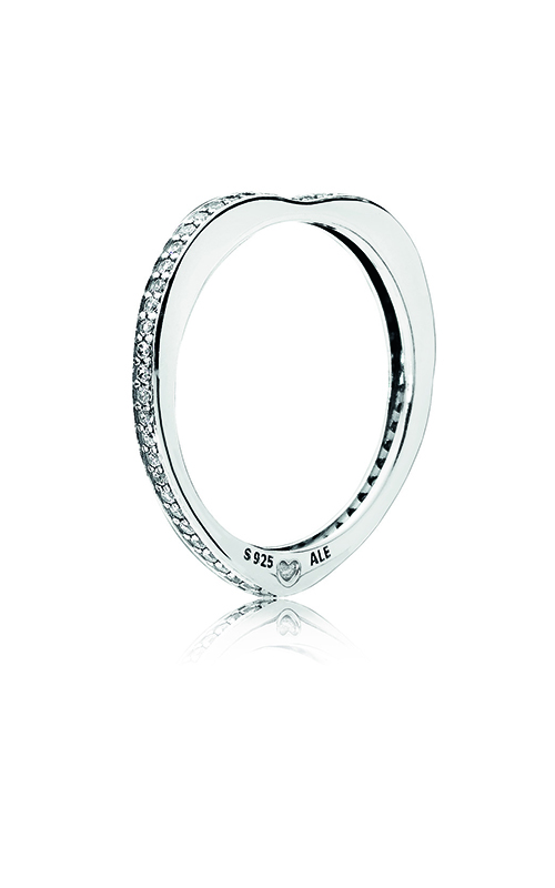 PANDORA Sparkling Arcs of Love Ring, Clear CZ 197095CZ-58 product image