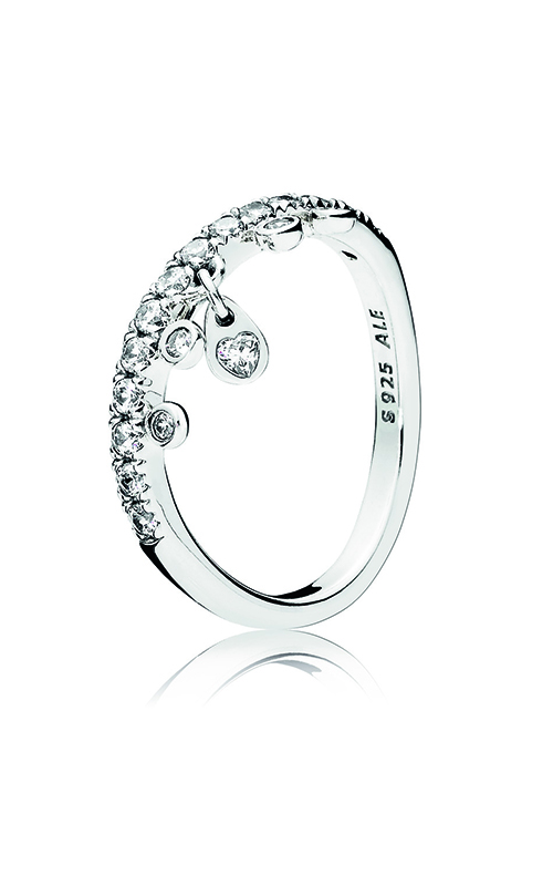 PANDORA Chandelier Droplets Ring, Clear CZ 197108CZ-56 product image