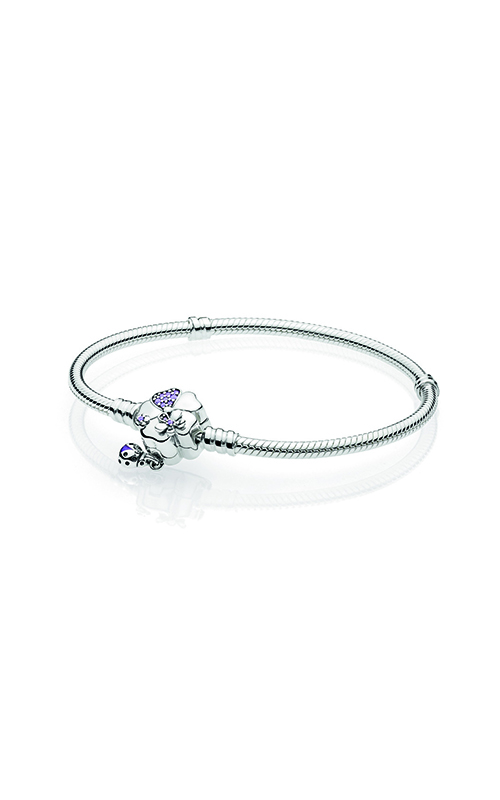 PANDORA Wildflower Meadow Clasp Sterling Silver Bracelet 597124NLC-18 product image