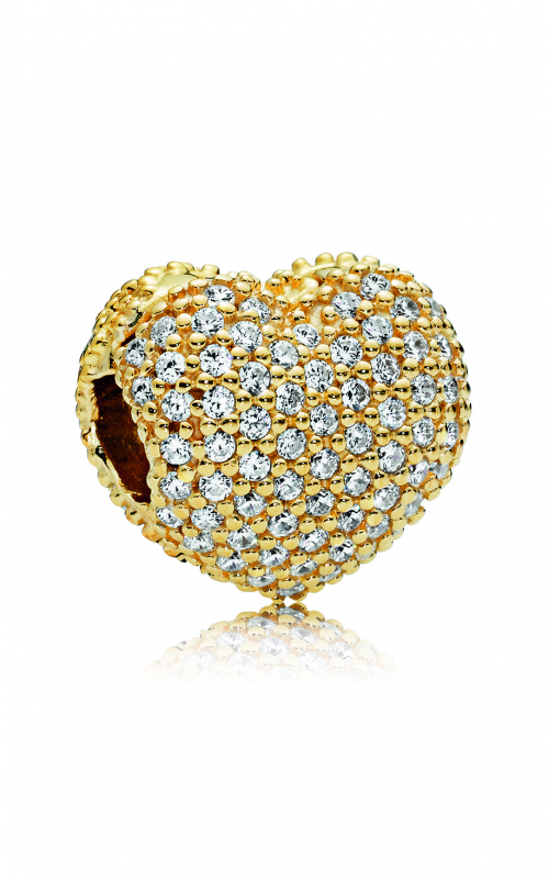 Pandora SHINE™, Clear CZ & Pave Open My Heart Clip 767156CZ product image