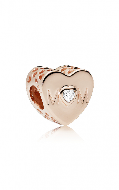 Pandora ROSE™, Mother Heart & Clear CZ Charm 781881CZ product image