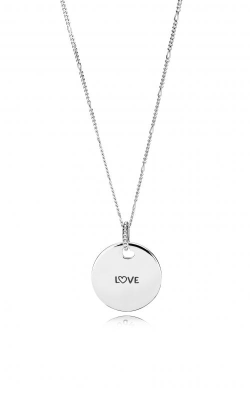 PANDORA Love Disc Necklace ENG397122_1-60 product image