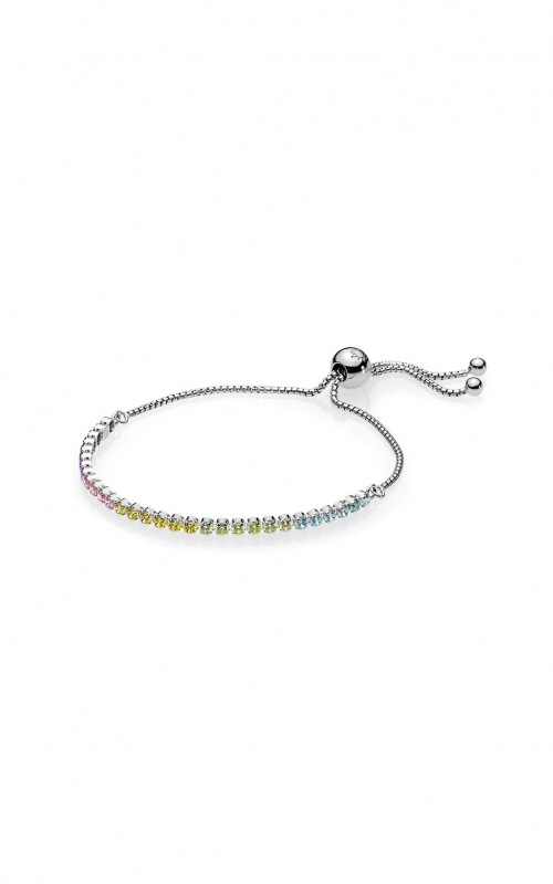 PANDORA Multi-Color Sparkling Strand Bracelet, Multi-Colored CZ 590524PCZMX-1 product image